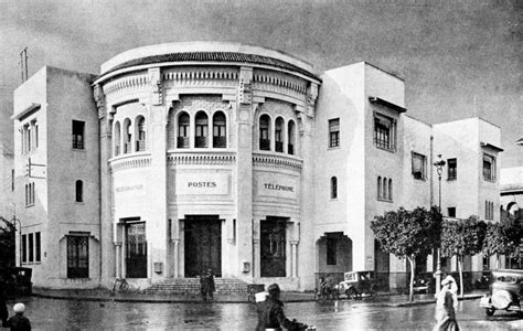 bureau d 騁ude batiment casablanca le maroc en 1932