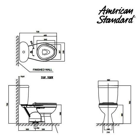 Kran Wc Duduk jual toilet american standard winplus dual flush ccst