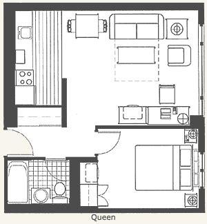 Disneyland Hotel 2 Bedroom Junior Suite Floor Plan - hotel suites floor plans search