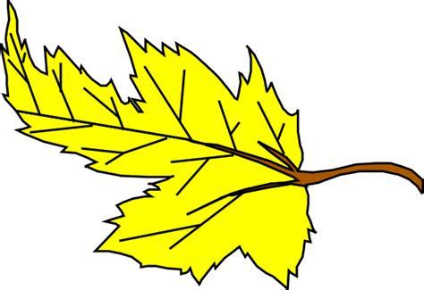 leaf clip art at clker com vector clip art online yellow leaf clipart clipart panda free clipart images