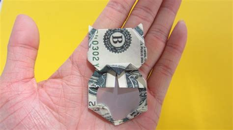 Maneki Neko Origami - origami money how to fold maneki neko lucky cat