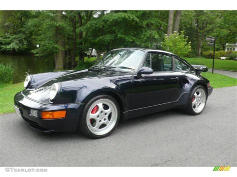 1994 porsche 911 turbo 1994 midnight blue metallic porsche 911 turbo 3 6 s