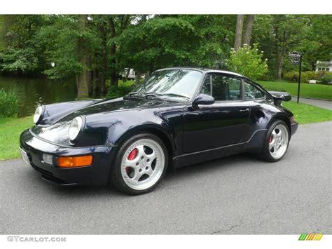 1994 porsche 911 turbo 1994 midnight blue metallic porsche 911 turbo 3 6 s