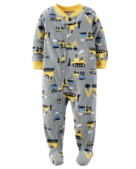 Carters Fleece Sleeper by Carter S 174 Infant Toddler Boys Fleece Sleeper Pajamas