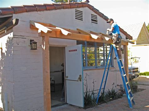 Building An Awning A Door by Image Build Wood Awning Door