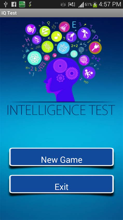 intelligenze test iq test intelligence test android apps on play