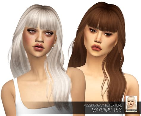 sims 3 custom content fringe hairstyle sims 4 hairs miss paraply maysims 153 hair retextured