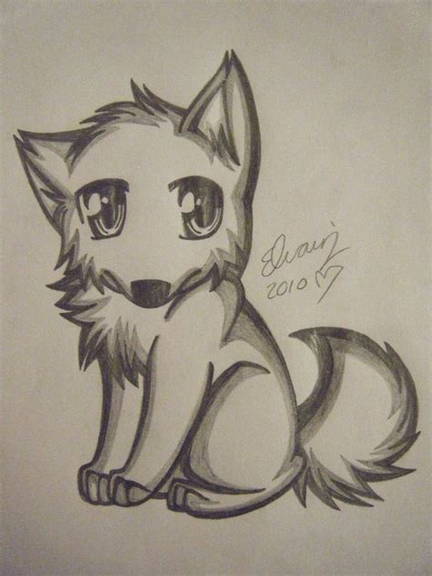 Drawing Wolf by Drawings Of Wolves Wolf Drawing 4 By Animefan1863 On