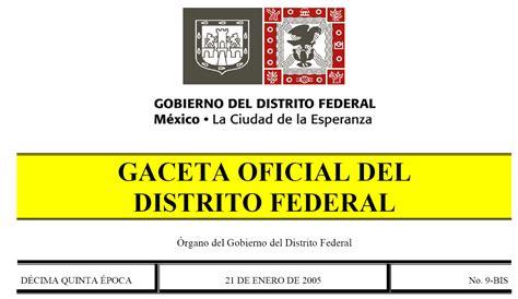 ley de archivos del distrito federal infodforgmx gaceta oficial autos post