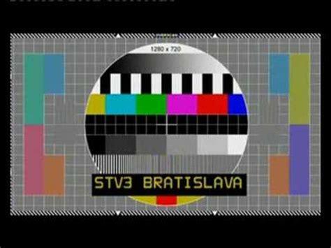 tv test pattern watch stv 3 tv test pattern of signal 2 youtube