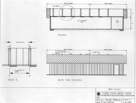 flat roof section drawing fsec pf 293 95