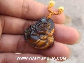 Gelang Batu Tiger Eye Biru liontin batu ukir dewa tiger eye asli kode 614 wahyu mulia