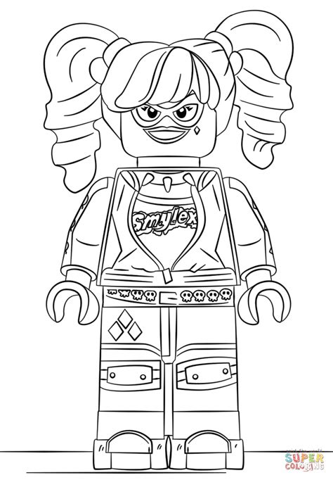 10 beautiful free printable batgirl coloring pages online click the lego harley quinn coloring pages to view
