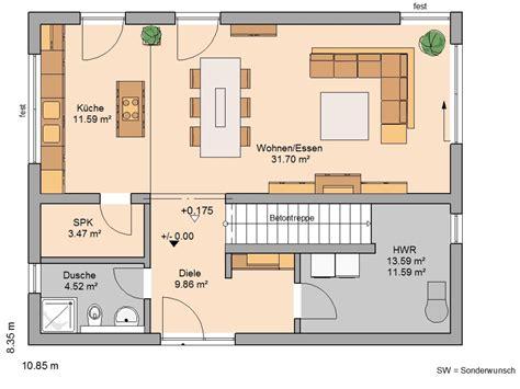moderne bungalows grundrisse einfamilienhaus grundriss loopele