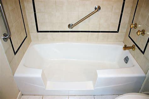 bathtub conversions walk in bathtubs walk in safely to a bathtub conversion island bath