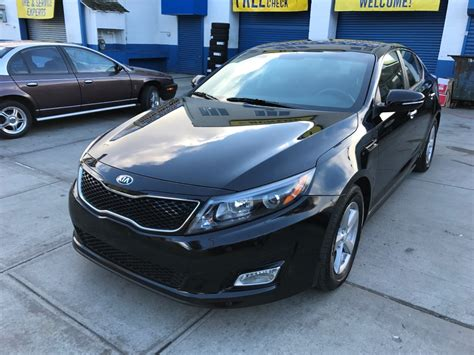 Cheap Kia Optima For Sale Used 2015 Kia Optima Lx Sedan 13 490 00