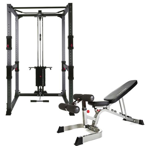 weight bench pulley bodycraft f430 power rack system review latest fitness