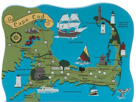 cape cod map ma the cat s meow