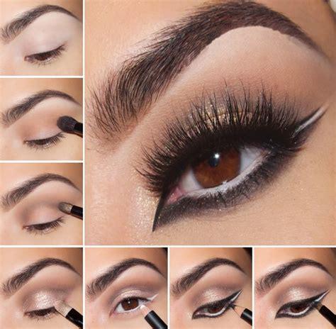 eyeliner tutorial for brown eyes inspiring eye makeup tutorial