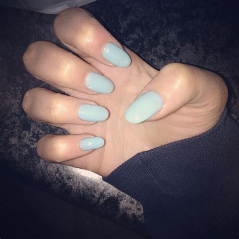 blue light for nails light blue nails oval shape nails nails nails