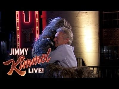 end harrison ford harrison ford and chewbacca end time feud with help