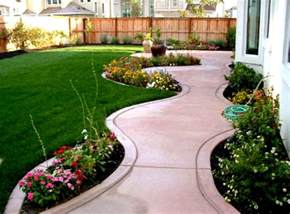 great home landscaping design ideas for backyard with green grass and trees homelk com