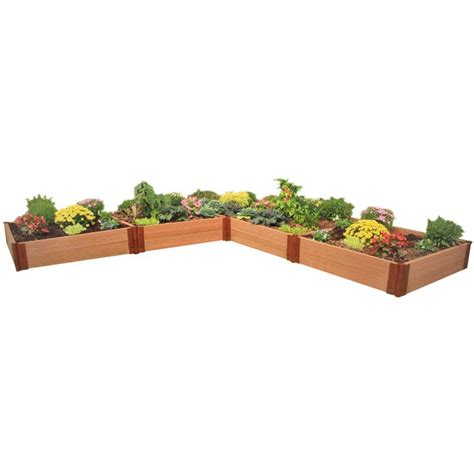 composite raised garden bed composite wood raised garden beds garden center the home depot chsbahrain com