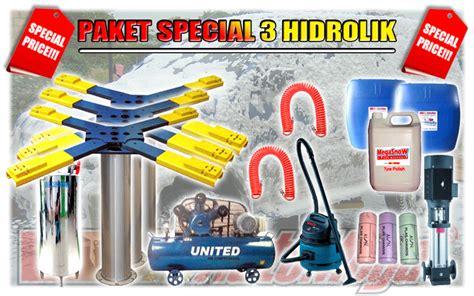 Paket Peralatan Usaha Cuci Mobil 5 Hidrolik Type X Berkualitas peralatan cuci mobil