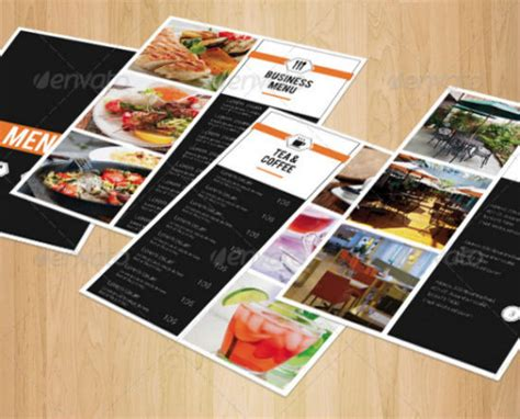 Small Menu Template well designed menu templates for restaurants in need