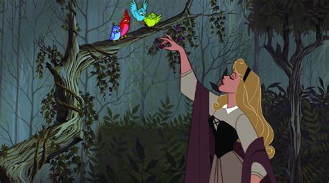 princess aurora sleeping beauty 1959 sceneshots