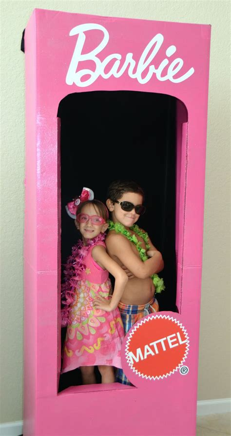 barbie photo booth layout diy barbie box diy free engine image for user manual