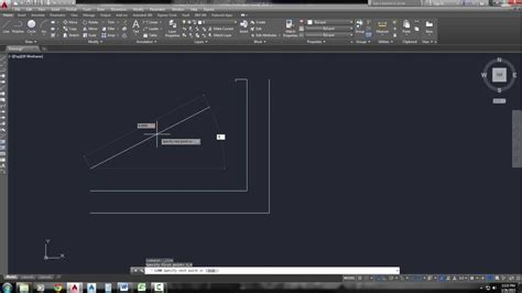 5 Drawing Commands In Autocad by Autocad 2017 Line Command 5 Methods To Draw Lines With