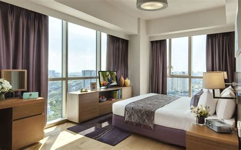 bedroom chi serviced apartments ho chi minh somerset vista ho chi minh city