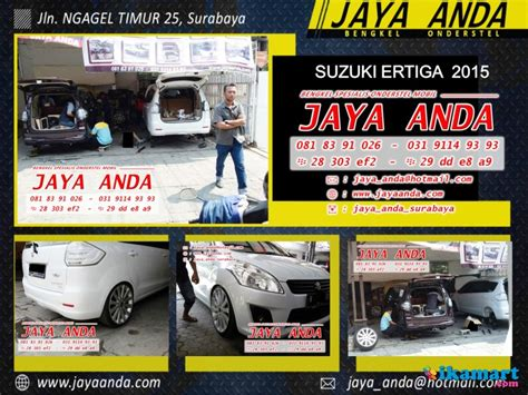 Shockbreaker Mobil Suzuki Ertiga bengkel onderstel suzuki di surabaya jaya anda bengkel