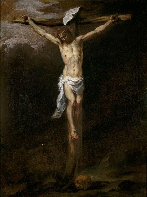 imagenes religiosas jesus crucificado file cristo crucificado murillo jpg wikimedia commons