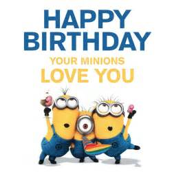 happy birthday cards for free minions holidays and - Minion Happy Birthday Card