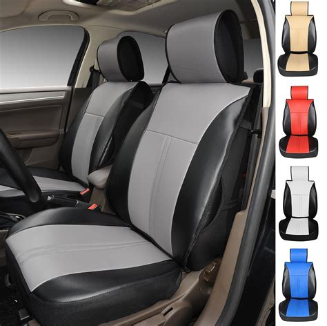 2017 toyota tacoma leather seat covers store 120904s black grey 2 front car seat cover