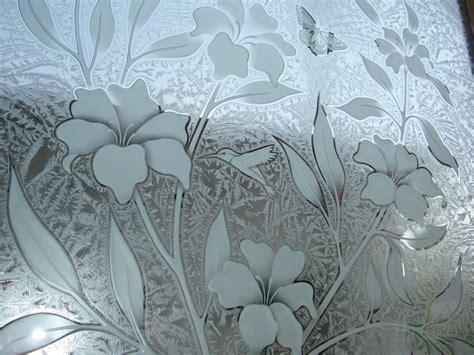 flower design in glass mountain designs sans soucie art glass