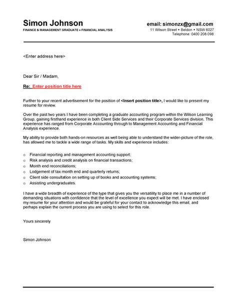 exles of cover letters for resumes australia resume cover letter exles australia resume format