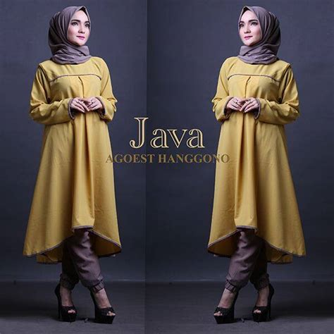 Java Set Joger open po java set tunik by agoest hanggono kuning