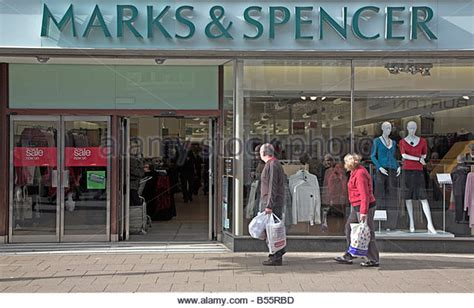 marks and spencer bureau felixstowe town stock photos felixstowe town stock