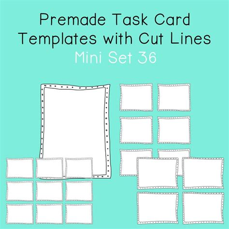 Math Task Card Templates by 47 Best Task Cards Images On Classroom Ideas