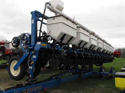Kinze 4 Row Planter For Sale by Wisconsin Ag Connection Kinze 3600 Row Crop Planters For Sale