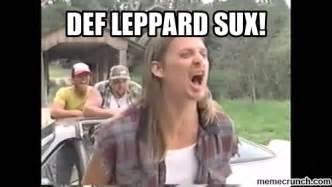 Def Meme - def leppard meme
