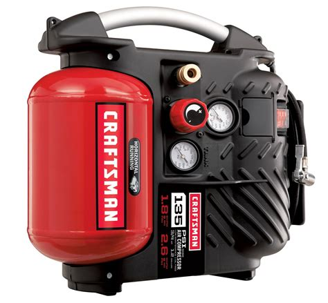 Craftsman 1.2 Gallon AirBoss? Oil Free Air Compressor and Hose Kit 135 PSI