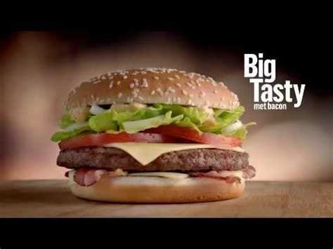 bid tasty terug bij mcdonald s de big tasty met bacon