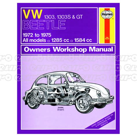 service and repair manuals 1965 volkswagen beetle engine control haynes workshop manual vw beetle 1303 1303s gt 72 75 up to p euro car parts