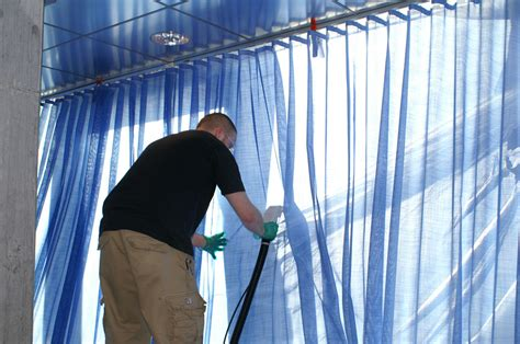 onsite drapery cleaning window treatment and ultrasonic blinds cleaned in