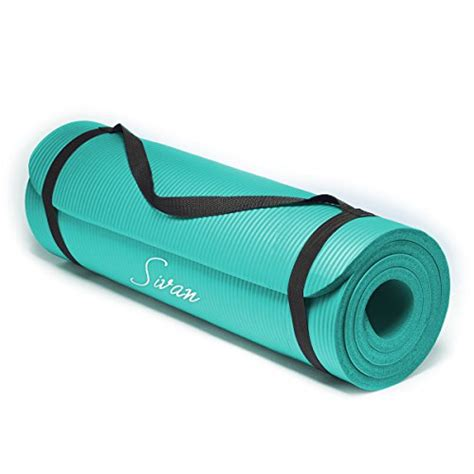 Mats For Beginners by Sivan Health And Fitness 1 2 Inchextra Thick 71 Inch