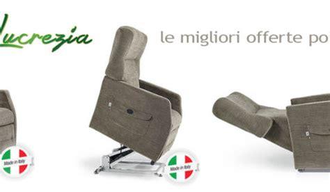 poltrona lucrezia relax poltrona elettrica smart relax con divano letto 3 posti in